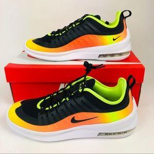 Nike Air Max Axis Prem Shoes Black Volt Mens New